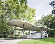 ENTERprise Architects completes catering pavilion in Grafenegg Castle Garden of Austria
