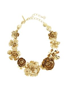 Bold Flower Necklace - Necklaces - Jewelry