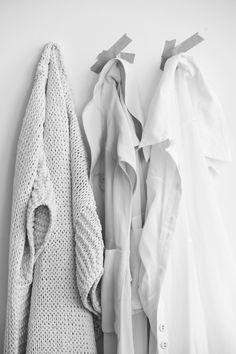 shirts as decor. photo by glen allsop.