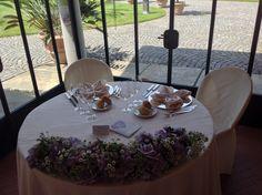 festone per il tavolo degli sposi www.weddinglafioreria.com