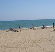 Playa de Urbasur en Isla Cristina - Islantilla (Huelva)