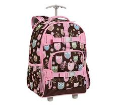 Owl Rolling Backpack - Backpack Her