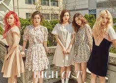 Red Velvet - High Cut Magazine vol. Seulgi, Kpop Girl Groups, Korean Girl Groups, Kpop Girls, Park Sooyoung, Irene Red Velvet, Red Velvet Photoshoot, Queens, Kim Yerim