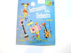 Instruments of the Orchestra a Vintage by lizandjaybooksnmore