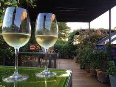 #Champagne toast at Roba Estesa, Hotel Neri in #Barcelona
