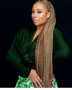 Top 60 All the Rage Looks with Long Box Braids - Hairstyles Trends Black Girl Braids, Braids For Black Hair, Girls Braids, Blonde Braids, Braids Wig, African Braids Hairstyles, Braided Hairstyles, Unique Hairstyles, African Braids Styles