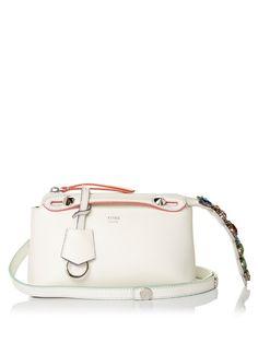a38f513b8e71 FENDI By The Way Mini Crystal-Tail Cross-Body Bag.  fendi