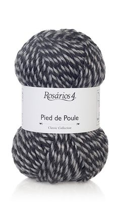 Yarn: Pied de Poule. Composition: 25% wool + 75% acrylic. Needles: 6 - 6 1/2 (USA 10) Weight: 100 g = 100 m | 3.50 oz = 109 yds