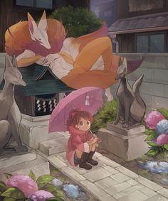 Anime Neko, Anime Kawaii, Manga Anime, Anime Art, Japanese Yokai, Youkai Watch, Anatomy Drawing, Pretty Art, Character Art