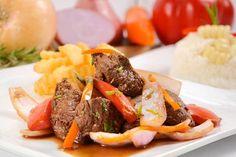 El LOMO SALTADO está sin duda entre los principales y más solicitados platos de la gastronomía peruana. Tiene influencia de la cocina oriental china. ENTRA!
