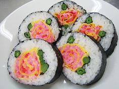 #Sushi a forma di rosa #romantic
