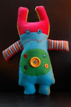 cute whimsy doll pattern