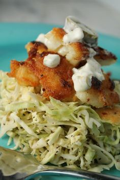Paleo Fish Taco w/ a Spicy Slaw