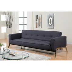 @Overstock.com - Abbyson Living Valentino Charcoal Grey Fabric Sofa Bed - Modernize your home or office decor with this simple and elegant convertible sofa from Abbyson Living. A fabric construction highlights this comfortable sofa and bed.  http://www.overstock.com/Home-Garden/Abbyson-Living-Valentino-Charcoal-Grey-Fabric-Sofa-Bed/7499777/product.html?CID=214117 $789.99
