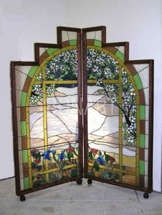 49 best Screens Room Divider Stained Glass images on Pinterest