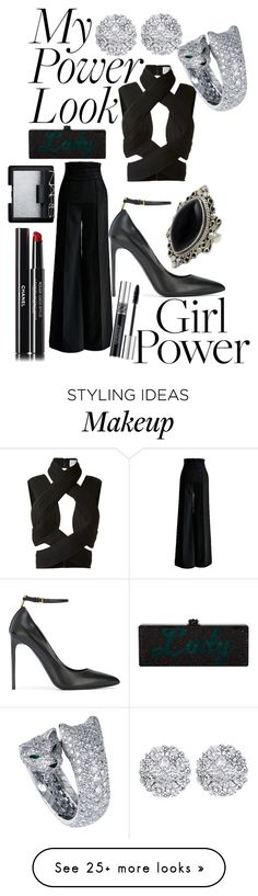 """""""MY POWER LOOK"""" by andreamartin24601 on Polyvore featuring Dion Lee, Tom Ford, NOVICA, Allurez, Chanel, NARS Cosmetics and Christian Dior"""