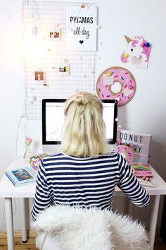 DIY Fotowand Selber Machen U0026 Schreibtisch Neu Dekorieren: Eine DIY Fotowand  Ist Im Handumdrehen Selbst