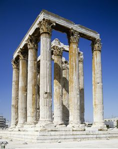 Temple of Olympian Zeus, Athens, Greece LKnits.com