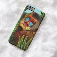 Henri Rousseau Mandrill In The Jungle Vintage Art Barely There iPhone 6 Case