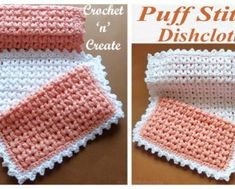 You searched for crochet puff - DIY Magazine Crochet Art, Crochet Home, Crochet Gifts, Crochet Stitches Free, Free Crochet, Crochet Patterns, Crochet Waffle Stitch, Bobble Stitch, Crochet Dishcloths