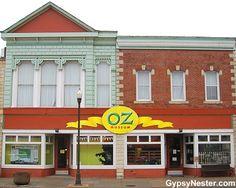 Bucket List Item: The Oz Museum in Wamego, Kansas! http://www.gypsynester.com/oz-museum.htm #movies #travel #wizardofoz