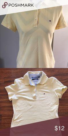 Pail yellow Tommy Hilfiger shirt Pail yellow Tommy Hilfiger shirt Tommy Hilfiger Tops Blouses
