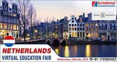 Interact Online with Delegate from Top Netherlands University Join Online through Laptops and Smart Phones  Webinar Schedule:  Tilburg University, Wednesday, 18th July 2018, 4:00 pm to 5:00 pm