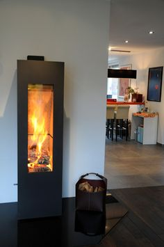 Great space saver Fireplace option
