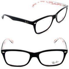 02837cf1e4f Ray-Ban Eyeglasses RX 5228 5014 Top Black on Texture Frame Size  50mm Black