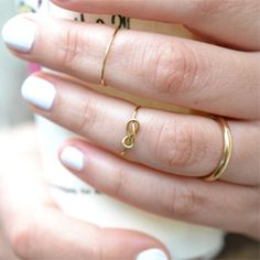 Here it is how to make this super lovely and trendy ring