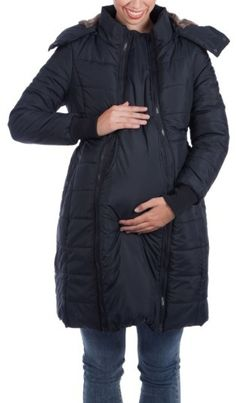 Women's Modern Eternity Madison Quilted Maternity Puffer Coat With Faux Fur Trim  - | maternity fashion | maternity fashion fall/winter | maternity fashion first trimester | maternity fashion summer | maternity fashion for work | Maternity Fashion | maternity clothes | maternity clothes fall | maternity clothes winter | maternity clothes summer | maternity clothes for work | Maternity Clothes | High Street Mama maternity clothes | Maternity Clothes | Maternity Clothes | Maternity clothes…