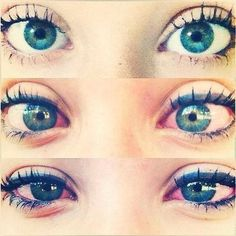 Eyes of a stoner, still beautiful as ever