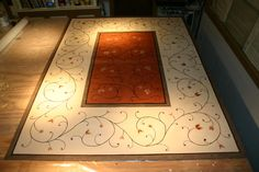 Floor Cloth Stencils For A Little Bit Of Fun I Came Up With New