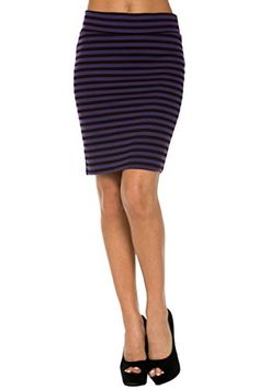 Dress up for the office or a date night out with your significant other in our Above the Knee Bodycon Pencil Skirt. This sassy and sexy skirt features a stretch bodycon fit, banded waist, and just above the knee hemline. Complete the look with a cute top, blazer, and high heels. * Read more  at the image link.
