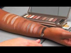Urban Decay's #NakedPalette 1 and 2 #Swatches