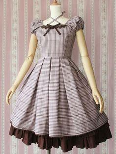 VM - Noble ckeck dress