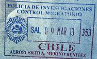 CHile salida