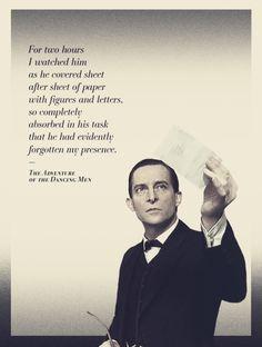 Watson about Holmes