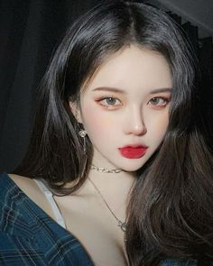 Asian Makeup, Korean Makeup, Korean Beauty, Asian Beauty, Pretty Korean Girls, Cute Korean Girl, Asian Girl, Cute Makeup, Beauty Makeup