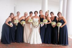 Navy Nautical Summer Wedding; August 2014; Cape Fear Country Club; Wilmington NC Weddings; KMI Photography; Design Perfection Weddings
