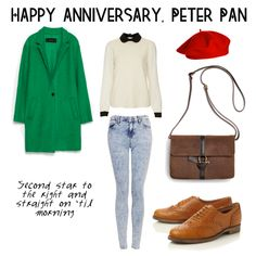 We Celebrate Peter Pan With Two Looks | Disney Style, Fashion - love that coat.