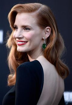 """Jessica Chastain attending the Los Angeles premiere of """"Interstellar"""" at the TCL Chinese Theatre IMAX in Los Angeles, on October 26th, 2014."""