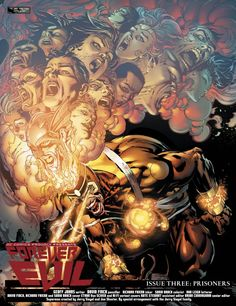 Forever Evil #3 double page spread by David Finch