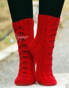 Ажурные носки «Autumn Glow» от Drops Design . Обсуждение на LiveInternet - Российский Сервис Онлайн-Дневников