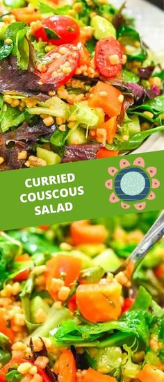 This Curried Couscous Salad is light and refreshing, and oh so delicious. You'll love it for a healthy lunch or a flavorful side at dinner. FOLLOW Cooktoria for more deliciousness! If you try my recipes - share photos with me, I ALWAYS check!