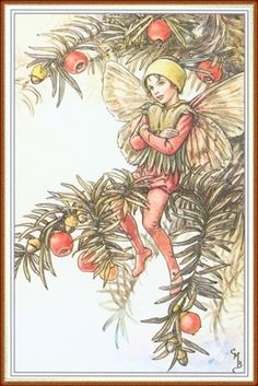 Yew Flower Fairy by Cicely Mary Barker