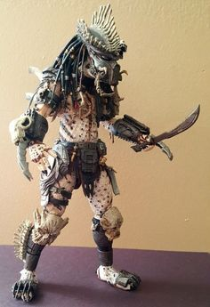 The Bone Collector (Predator) Custom Action Figure