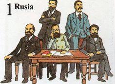 En San Petersburgo (*) se reunieron cinco compositores para buscar en la leyenda o en hechos históricos los temas de sus óperas y poemas sinfónicos. El grupo estaba formado por Balakirev, Mussorgsky, Borodin, Rimsky-Korsakov y Cui, a los que se les conocía como el grupo de «los cinco» o «la pandilla poderosa».