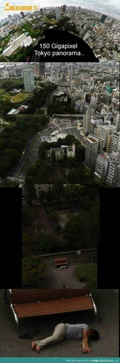 150 gigapixel + 1 mega hangover