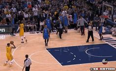 Russell Westbrook--Overcompetitive, Bored, or Stupid? [GIF] | FatManWriting